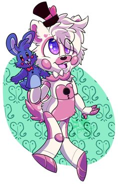Funtime Freddy? I think this is Funtime Foxy his/her tail is too long to be a bear