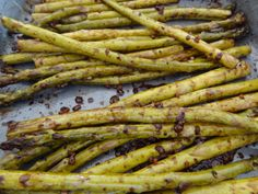 Roasted Asparagus! Healthy and Delicious!