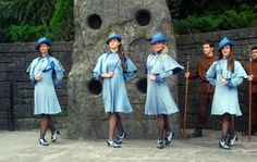 You know, apart from the ridiculous hats and weird shoes, I always thought the Beauxbatons uniforms from Harry Potter and the Goblet of Fire were quite cute.