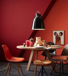 Hervorragend Die Rote Wand: Wände In Warmen Rot