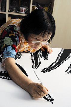 Yayoi Kusama print inspiration!
