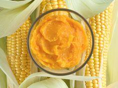 Butternut Squash, Carrot & Sweetcorn Puree   Annabel Karmel
