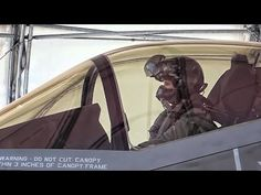 Christine Mau completed her first training flight in the Lightning II at Eglin Air Force Base on May 2015 - making her the first female The Art Of Flight, Pilot License, Female Pilot, Military Aircraft, Lightning, Planes, Youtube, Women, Transportation