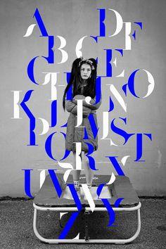 Graphic Design: Excellent typography by Paris-based studio Les Graphiquants