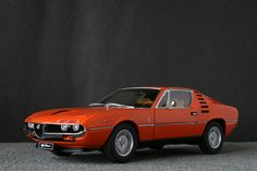 Alfa Romeo Montreal (diecast model!)