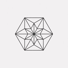 DAILYMINIMAL: #FE16 481 A new geometric design every day in Abstract Pantones