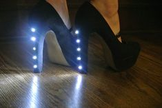 Light up heels from Instructables #WearablesProjects #WebelowWear