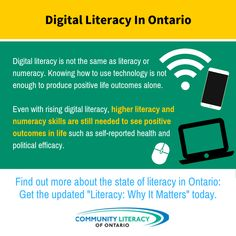 Literacy, Why It Matters Literacy And Numeracy, Digital Literacy, Robotics, Positive Life, Enough Is Enough, Workplace, Self, Positivity, Graphics