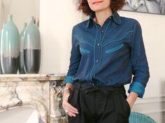 La chemise Jolaine par Bee made - thread&needles
