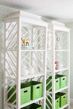 Modern shelving: http://www.stylemepretty.com/vault/gallery/39444 | Photography: Kate Osborn Photography - http://kateosbornephotography.com/index2.php#!/h_o_m_e