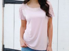 This blush crochet top is so soft and dainty with a loose fit. FREE SHIPPING!     Sizing:    Small 0-4    Medium 6-8    Large 10-12    Model is wearing a small.       Shop this product here: http://spreesy.com/pinkpineappleclothingcompany/97   Shop all of our products at http://spreesy.com/pinkpineappleclothingcompany      Pinterest selling powered by Spreesy.com