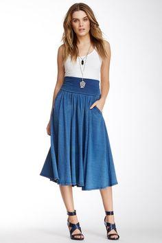 Three Dots Maxi Skirt on HauteLook