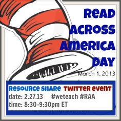 read across america week: resources GALORE! | #wetach #RAA