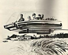 Les véhicules du futur, 1968.