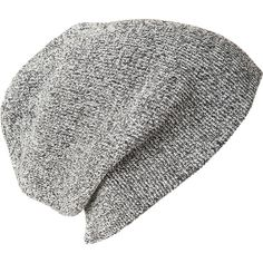 Soul Cal Deluxe Slouch Twist Hat (£8) ❤ liked on Polyvore featuring accessories, hats, men, slouch hat, beanie cap, gray slouch beanie, slouch beanie and grey slouch beanie