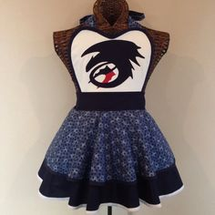 Toothless How to Train Your Dragon apron by AriaApparel on Etsy,