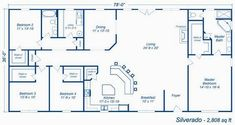 Silverado metal house plans, metal houses, shop house plans, new house plans , Metal House Plans, Pole Barn House Plans, Pole Barn Homes, Shop House Plans, Barn Plans, New House Plans, House Floor Plans, Rectangle House Plans, Pole House