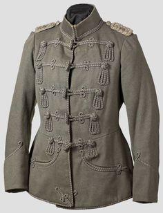 An attila of a major in the Prussian Hussar Regiment von Schill (1st Silesian) no. 4, circa 1900