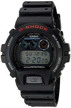 1b1f61be451 G-Shock DW6900-1V Men s Black Resin Sport Watch