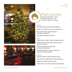 Party Lunches at Hard Days Night Hotel