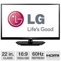 LG Electronics 22LN4510 LG 22-Inch 1080p 60Hz LED-LCD HDTV - http://www.facebook.com/902135186483754/posts/977400775623861
