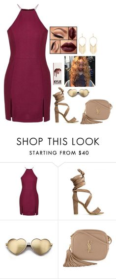 """""""Untitled #343"""" by nun-for-free ❤ liked on Polyvore featuring Topshop, Wildfox, Yves Saint Laurent and Lana"""