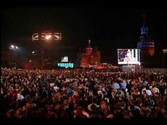 Red Square Live with special a very guest.........Paul McCartney