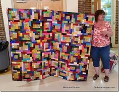 Quiltville's Quips & Snips!!: Lunch Time Show & Share in Woodbridge!