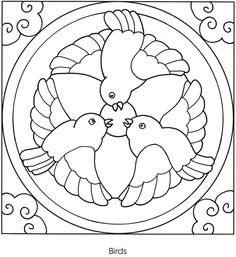 Coloring Pages - Mandala Designs - News - Doodle Coloring, Mandala Coloring Pages, Colouring Pages, Printable Coloring Pages, Adult Coloring Pages, Coloring Books, Bird Embroidery, Embroidery Patterns, Quilt Patterns