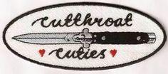 Cutthroat Cuties Patch - $17.00