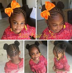 My girl - - kids hairstyles детские Little Girl Braid Styles, Little Girl Braid Hairstyles, Toddler Braided Hairstyles, Toddler Braids, Kid Braid Styles, Little Girl Braids, Girls Natural Hairstyles, Baby Girl Hairstyles, Natural Hairstyles For Kids