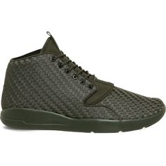 Nike Jordan Eclipse chukka trainers ($120) ❤ liked on Polyvore featuring men's fashion, men's shoes, men's sneakers, nike mens shoes, nike mens sneakers, mens chukka shoes, mens chukka sneakers and mens lightweight running shoes