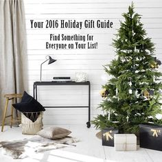 Check out my 2016 Holiday Gift Guide! Theres a little bit of everything so you'll be sure to find stuff for everyone on your shopping list this year!