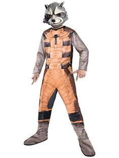 Ever So Lovely Guardians Of The Galaxy: Rocket Raccoon Child Costume.  Unique Collection Of Guardians Of The Galaxy Costumes For Halloween At  PartyBell.