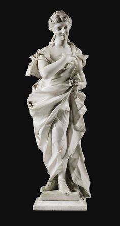 flora or allegory of spring Allegorical Sculpture, 7 Arts, Greek Statues, Buddha Statues, Statue Tattoo, Dragon Statue, Guache, Classical Art, Renaissance Art