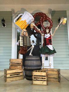 Baxter Skeletons - Oktoberfest! - 2015