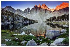 Kings Canyon National Park - California, USA Kearsarge Pinnacles by benjamin-charles