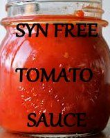Slimming World Tips and Recipes to share: Slimming World Home Made SYN FREE Tomato Ketchup / Tomato Sauce