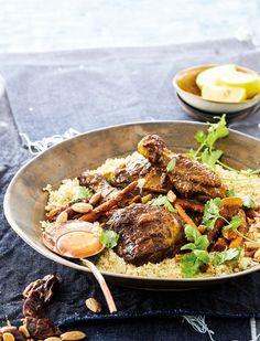 Hoender-tagine met dadels Soul Food, Meet, Asian, Ethnic Recipes, Jaco, Bitter, Kos, Drink, Morocco