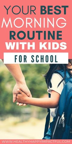 A Relaxed Morning Routine for School? 10 Tips that WORK. Find this morning routine with kids to be just what you needed for the back to school routine. #backtoschool #schoolroutine #morningroutinekids School Routines, School Hacks, School Fun, Learning Activities, Kids Learning, Activities For Kids, Morning Routine Kids, Back To School Organization, Child Life