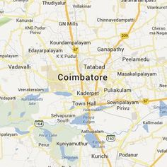 Google Satellite Maps of Coimbatore Google Satellite, Satellite Maps, Coimbatore