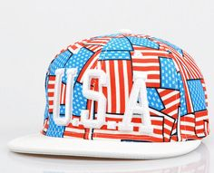 Adjustable unisex Embroidery USA flag Snapback caps by Bestown d72e3c059fba