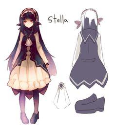 Character Design Stella Alice Mare