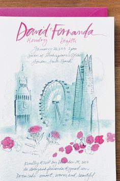 London invitation, www.juliesongink.com