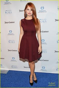 Debby Ryan wearing a cute outfit!