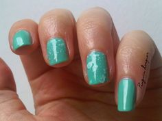 Maybelline Acid Washs: Mint Acid-tittude http://penguinlacquer.blogspot.de/2014/07/schaumbad-in-mint.html #maybelline