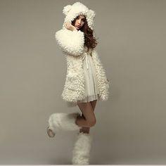 mokio coréen manteau de fourrure de causalité de la mode des femmes - EUR € 19.99
