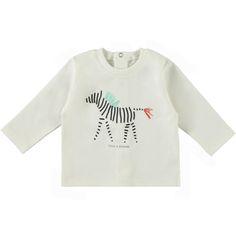 "Meisje - tshirt LM ""zebra"" - tshirt LM ""zebra"" - T-SHIRTS - Baby Filou - Filou & Friends"