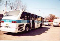 Kenosha Transit 1978 slope back GMC RTS bus. Kenosha Wisconsin. April 2000. by Eddie from Chicago, via Flickr