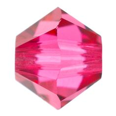5328 4mm Indian Pink Swarovski Elements Crystal Bicone Bead | Fusion Beads